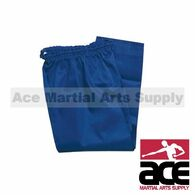 Color Martial Arts Uniform Pants (Karate and Taekwondo), Blue