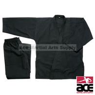 Karate Uniform 10 oz (Medium Weight), Black