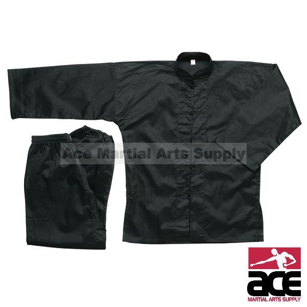 Black Kung Fu Uniform