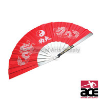 Aluminum Fan, Red