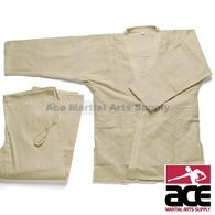 Double Weave Judo GI - Natural/Beige