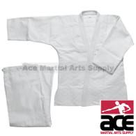 Double Weave Judo Gi - White