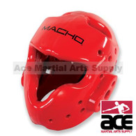 Macho MVP Head Gear, Red