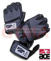 GTMA Leather Grappling Gloves