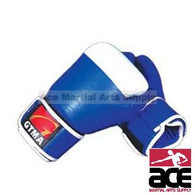 GTMA Two Tone Leather Boxing Gloves