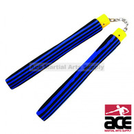 New Light Foam Nunchaku w/ Stripe Blue