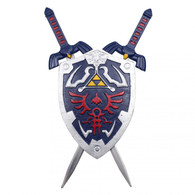 "7.5"" Miniature Hero's Zelda Sword And Shield Set"