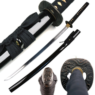 1045 High Carbon Steel Full Tang Handmade Musashi Dragon Katana Sword