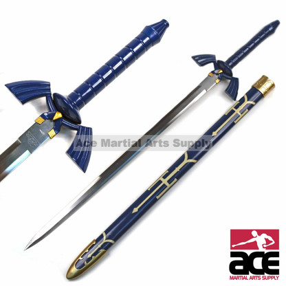 """440 Stainless Steel. Slightly sharpened. Polycarbonate guard and handle. 36"""" in total length."""