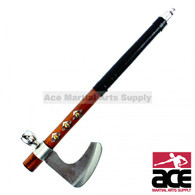 "18"" Tomahawk Hatchet Native Indian Chief Axe with Smoking Tabacco Peace Pipe"