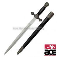 """21"""" Mason Knights of Templar St. John Sword Historic Dagger"""
