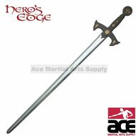 "47"" Foam Padded Knights Templar Crusader Sword Costume Prop Cosplay LARP"