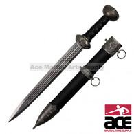 "17"" Renaissance Dagger With Scabbard"
