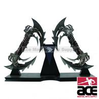 Black Blade Dual Fantasy Eagle Dagger