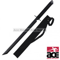 Full Tang Machete Ninja Shinobi Sword W Back Sheath