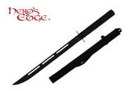 "26"" Single Full Tang Blade Black Ninja Sword Machete"