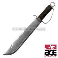 "19.5"" HUNTING KNIFE W/SHEATH"