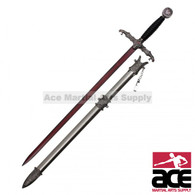Fantasy Snake Head Long Sword with Scabbard