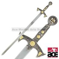 """40"""" Knights Templar Sword"""