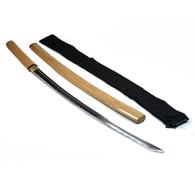 Musashi Handmade Carbon Steel Shirasaya Katana Sword