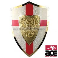 Medieval Shield of Carlos V Double Eagles Knight Armor