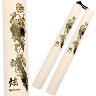 Nunchucks with Padded Foam Handles Nunchuck WHITE