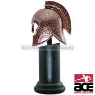 Mini Achilles Helmet W/ Stand