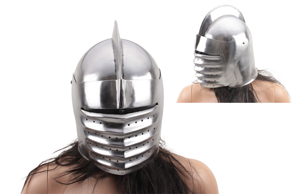 c33913b926df8 Medieval Knight Helmet  Italian Armor Costume - One Size Fits Most Adult