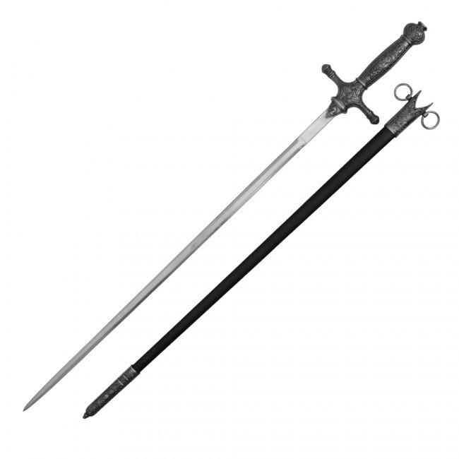 Knights of St John Masonic Sword Medieval Crusader 34