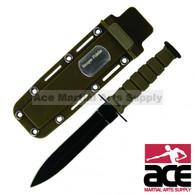 R34AR GREEN NECK KNIFE