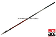 "72 "" Full Tang Battle Ready Japanese Sankaku Yari Spear"
