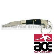 "3.5"" MINI POCKET KNIFE KEYCHAIN WITH CASE"