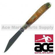 Peanut style pocket knife