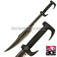"""34.25"""" Spartan Sword-SOLID CARBON STEEL"""