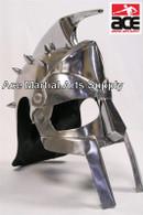 Gladiator Roman Maximus Style Helmet Armor with Spikes