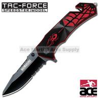 """TAC FORCE TF-553BR 7.5"""" FANTASY SPIDER SPRING ASSISTED KNIFE"""