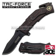 "Tac Force TF-688SF 7.5"" Special Force Spring Assisted Folding Knife"