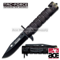 "TAC FORCE TF-636BGN 7.5"" ASSISTED FOLDING KNIFE"