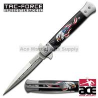"TAC FORCE TF-598E 8.5"" EAGLE SPRING ASSISTED FOLDING KNIFE"
