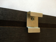 Universal Replacement Valance Clip that replaces all plastic valance clips