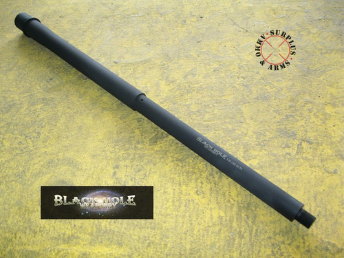 """Black Hole Weaponry AR-15 18"""" Mid-Length Stainless Steel 5 ..."""