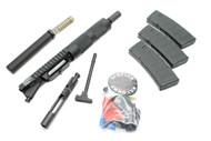 "Surplusammo.com 300BLK 8.5"" 1:7 Billet Nitride Carbine Length Free Float Dragon's Head Upper Receiver"