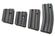 Surplusammo.com | Surplus Ammo Ammunition Storage Components (ASC) AR-15 .223/5.56 ALUMINUM Magazines - Black 5, 10, 20, 30 round mags 223-AL-BM-O-ASC