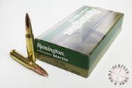 .308 Win 168 Grain MatchKing BTHP Remington - 200 Rounds