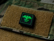 We The People Ranger Eye Tab PVC Velcro Patch Glows in the Dark! Surplus Ammo