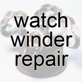 Return winders to:   James Feldman Associates, Inc.  Watchwinder REPAIRS   505 N. Lake Shore Drive Suite 6601 (must be included) Chicago, IL 60611