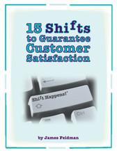 15 Shifts to Guarantee Customer Satisfaction e-book