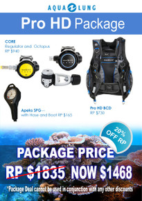 Aqua Lung Pro HD Package