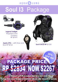 Aqua Lung Soul i3 Twilight Pro Package