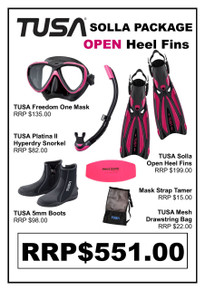 TUSA Freedom One Solla Open Heel Package